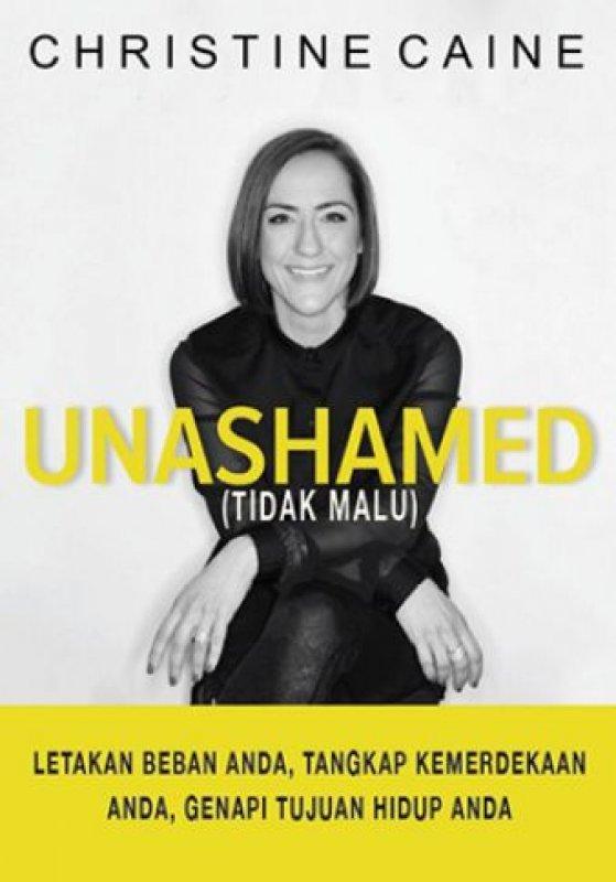 Cover Buku Unashamed - Tidak Malu