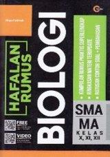 HAFALAN RUMUS BIOLOGI SMA/MA KELAS X, XI, XII