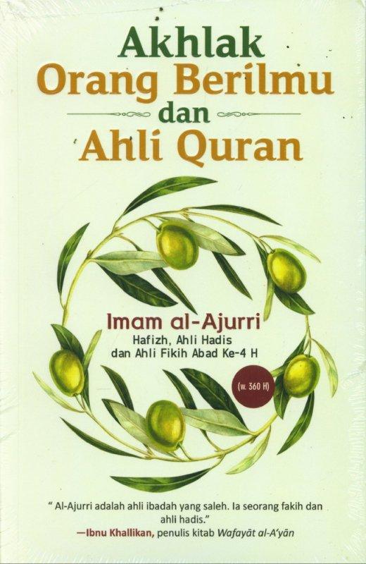 Cover Buku Akhlak Orang Berilmu dan Ahli Quran