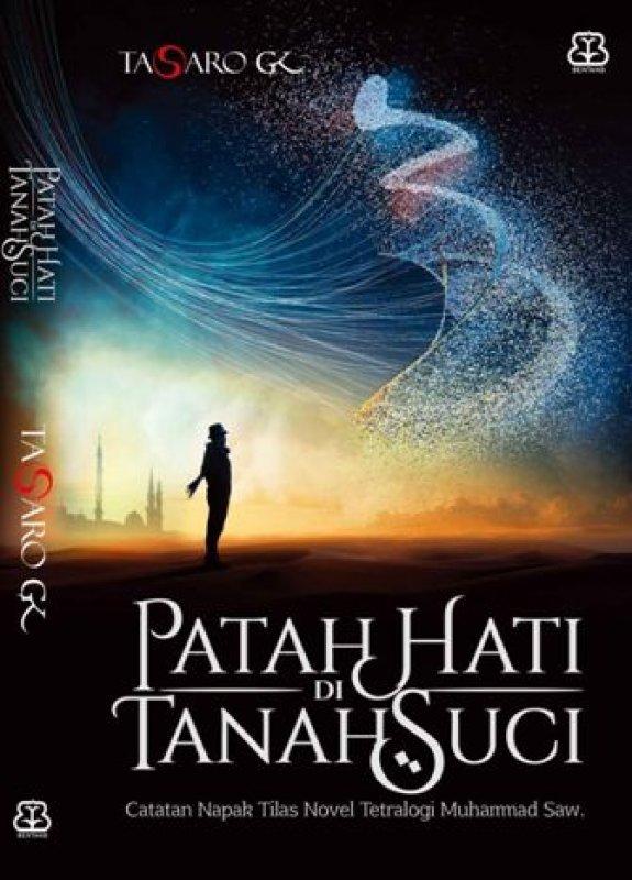 Cover Buku Patah Hati di Tanah Suci