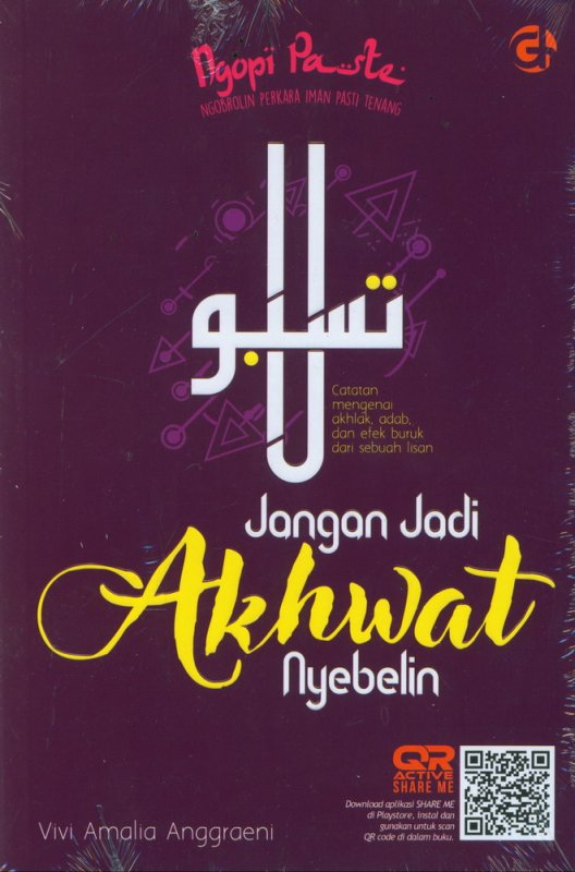 Cover Buku Jangan Jadi Akhwat Nyebelin