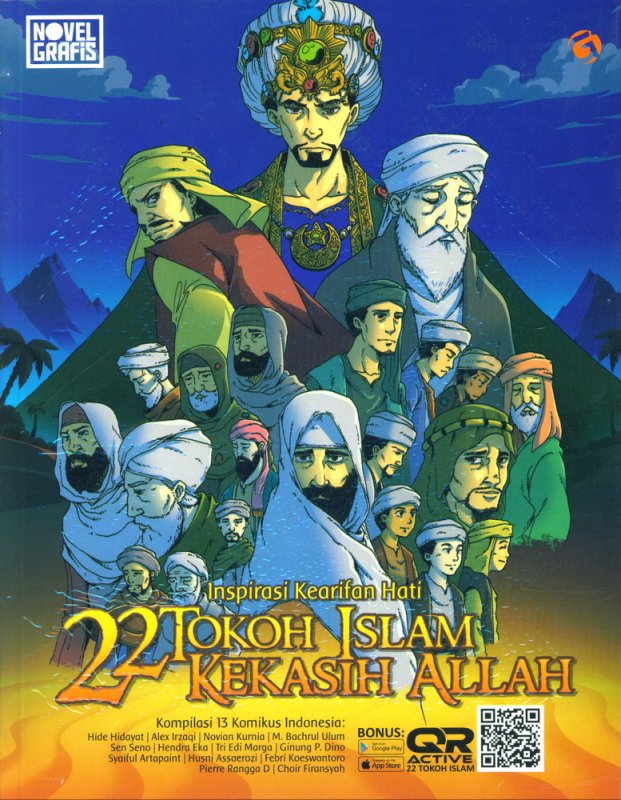 Cover Buku Inspirasi Kearifan Hati : 22 Tokoh Islam Kekasih Allah