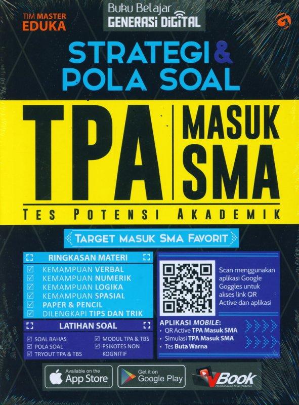 Cover Buku Strategi & Pola Soal TPA Masuk SMA
