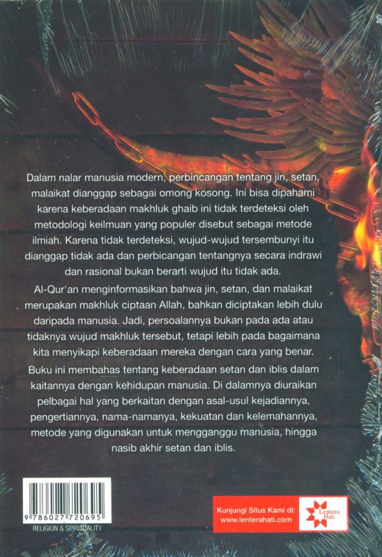 Cover Belakang Buku Setan dalam Al-Quran Cover Baru