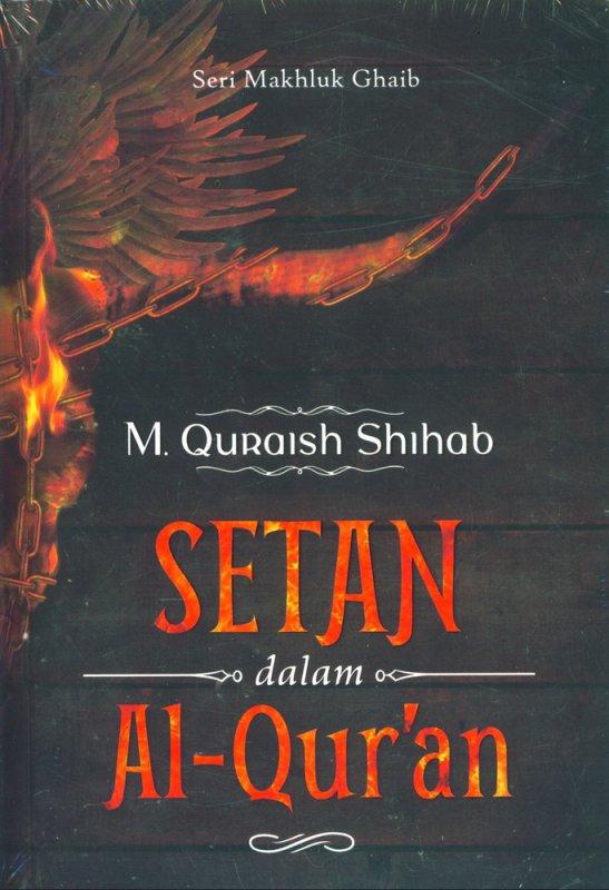 Cover Buku Setan dalam Al-Quran Cover Baru
