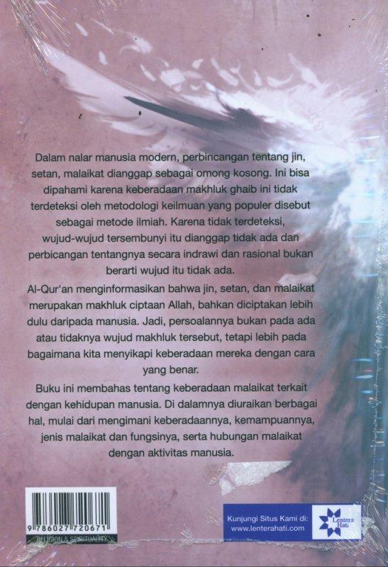 Cover Belakang Buku Seri Makhluk Ghaib : Malaikat dalam Al-Quran