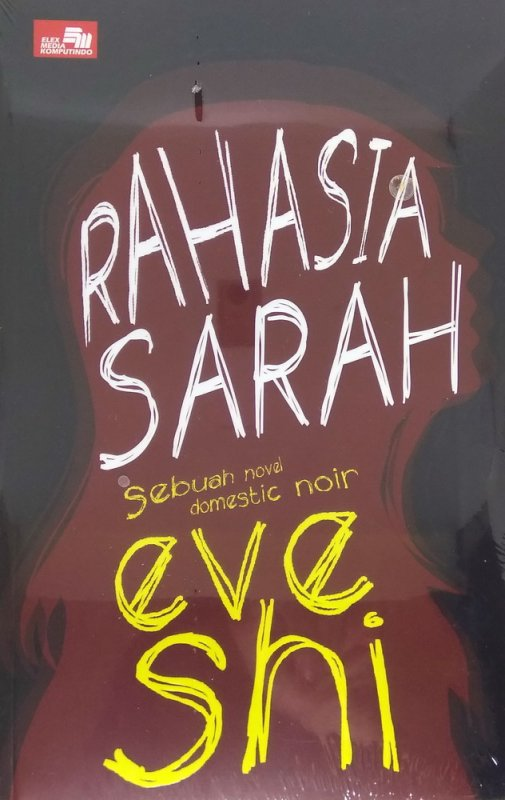 Cover Buku Rahasia Sarah