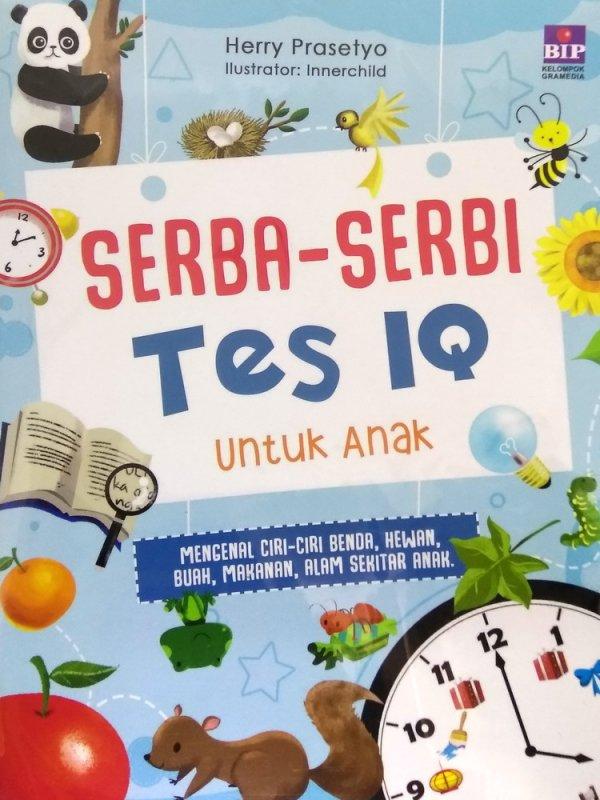 Cover Buku Serba Serbi Tes IQ untuk Anak