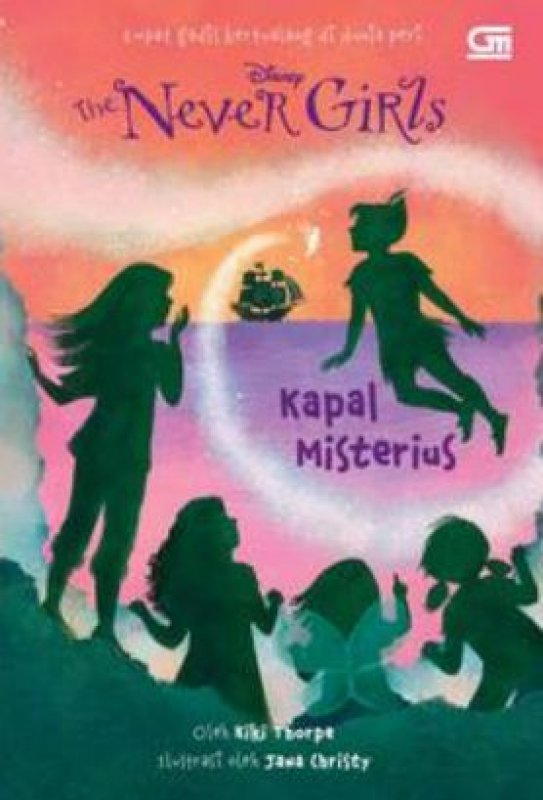 Cover Buku The Never Girls: Kapal Misterius
