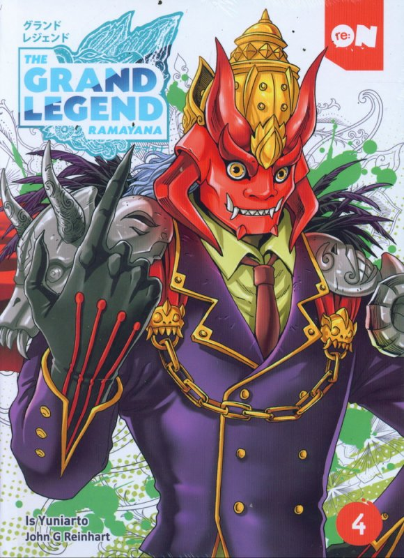 Cover Buku The Grand Legend Ramayana #4