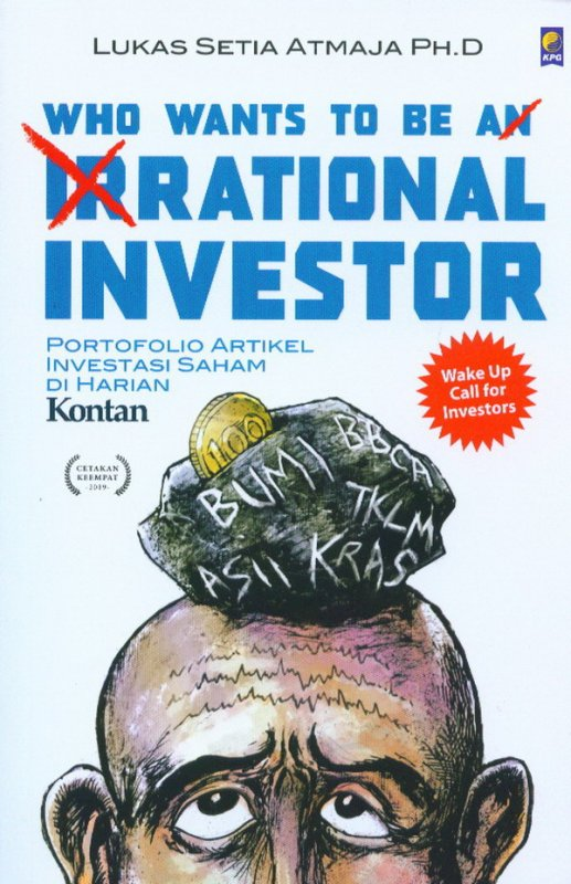 Cover Buku Who Wants to be A Rational Investor
