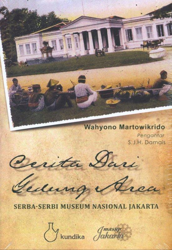 Cover Buku Cerita Dari Gedung Arca Edisi 2018