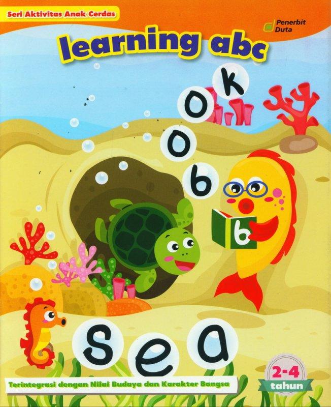 Cover Buku Seri Aktivitas Anak Cerdas: Learning ABC (2-4 tahun)