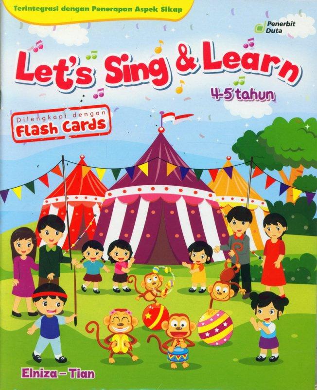 Cover Buku Lets Sing & Learn (4-5 tahun)
