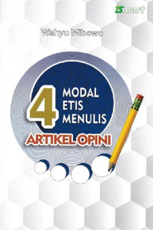 Cover Buku 4 MODAL ETIS MENULIS ARTIKEL OPINI