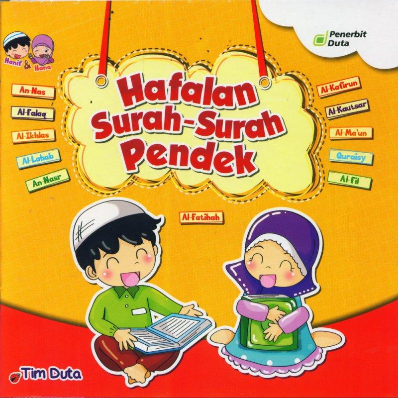 Cover Buku Seri Hanif & Hana: Hafalan Surah-Surah Pendek