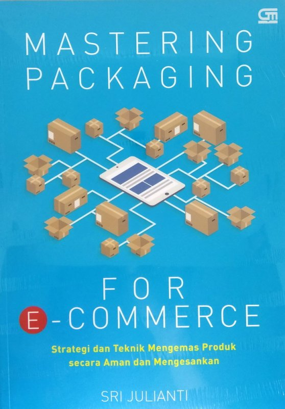 Cover Buku Mastering Packaging for E-Commerce