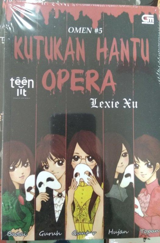 Cover Buku Omen#5: Kutukan Hantu Opera