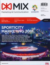 Majalah MIX Marketing Communications Edisi Juli - Agutus 2018