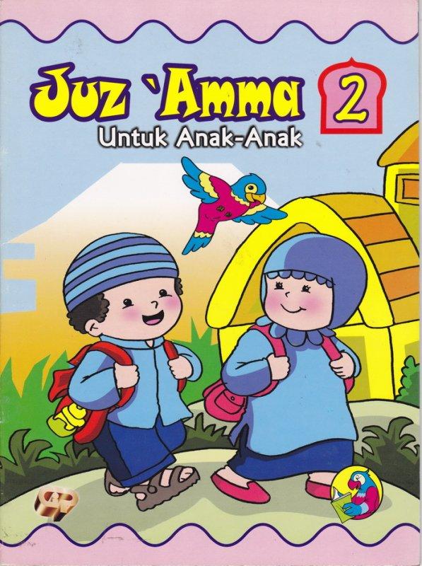 Cover Buku Juz Amma untuk Anak Jilid 2 bk