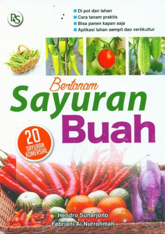 Cover Buku Bertanam Sayuran Buah