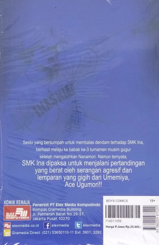 Cover Belakang Buku Ace of Diamond 31