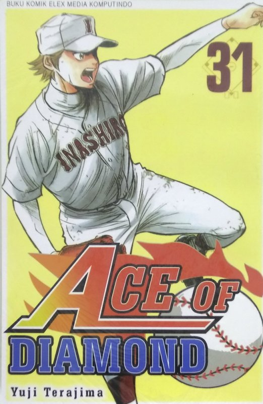 Cover Buku Ace of Diamond 31