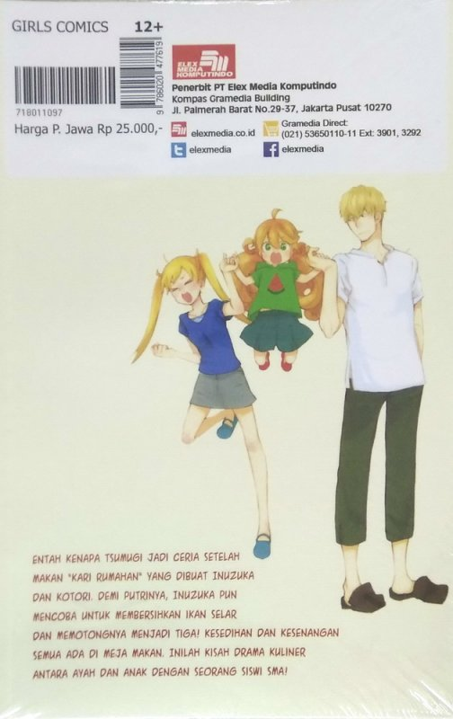 Cover Belakang Buku Sweetness And Lightning 3