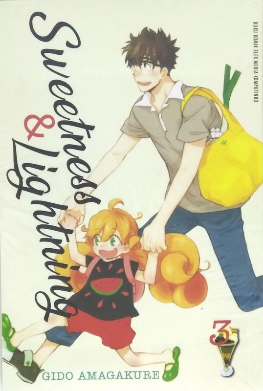 Cover Buku Sweetness And Lightning 3