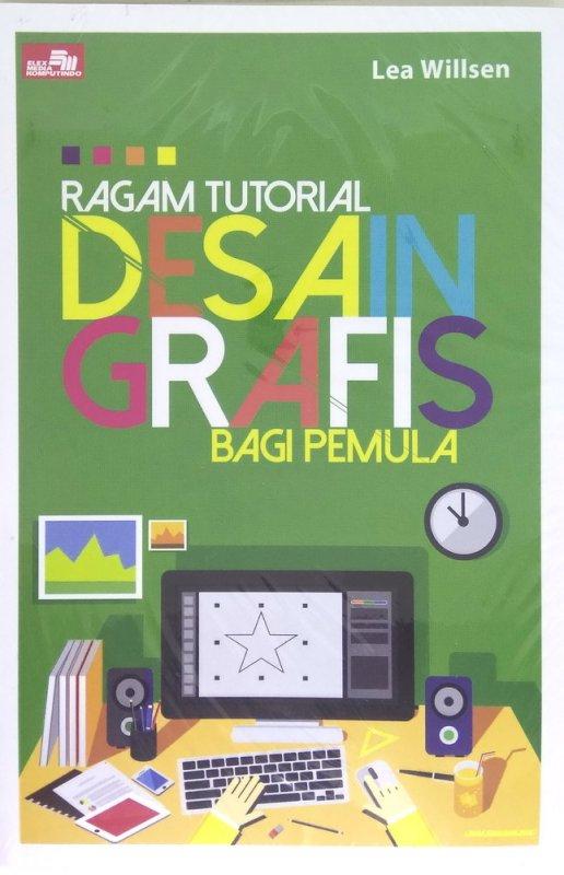 Cover Buku Ragam Tutorial Desain Grafis bagi Pemula