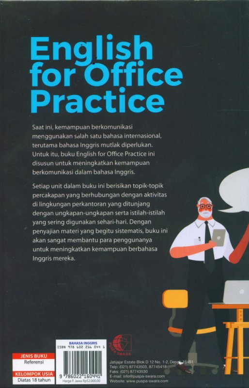 Cover Belakang Buku English for Office Practice