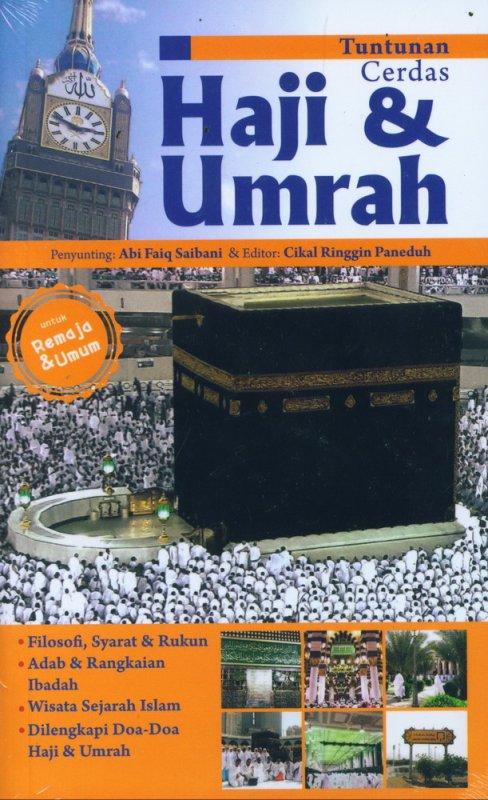Cover Buku Tuntunan Cerdas Haji & Umrah