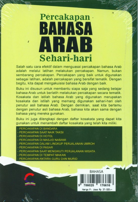 Cover Percakapan Bahasa Arab Sehari-hari (POCKET EDITION)