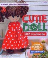 Cutie Doll 100% Handmade Dilengkapi Pola Boneka, Baju & Rambut