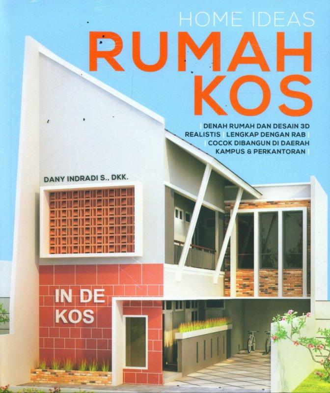 Cover Buku Home Ideas Rumah Kos