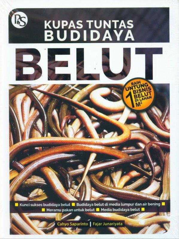 Cover Buku Kupas Tuntas Budidaya Belut