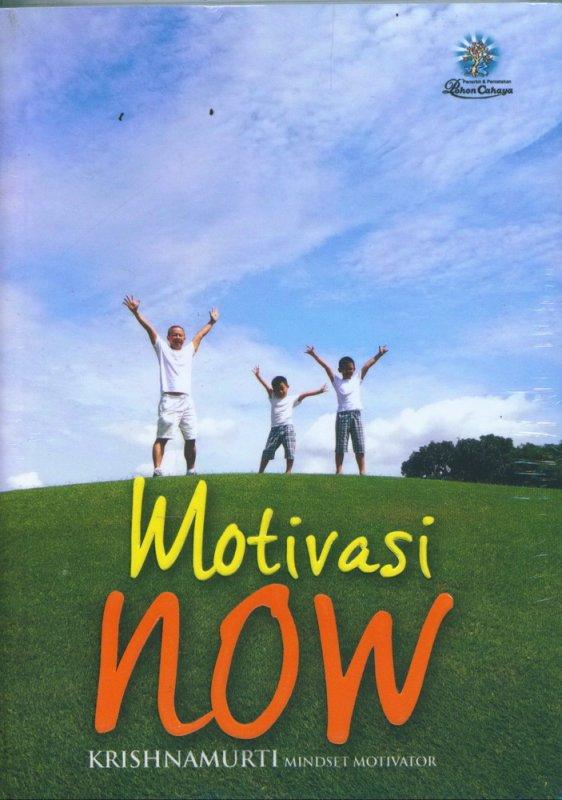 Cover Buku Motivasi Now