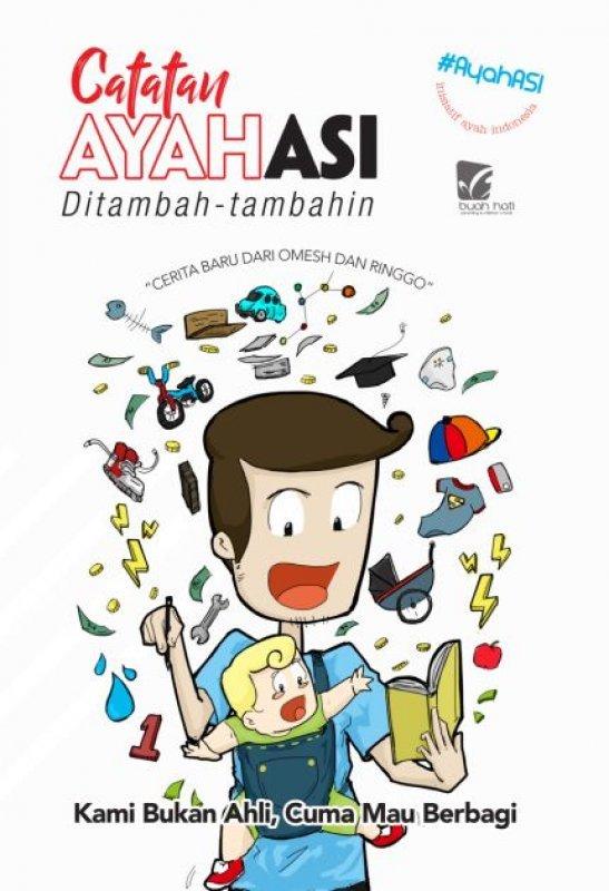 Cover Buku Catatan Ayahasi Ditambah-tambahin (reguler)