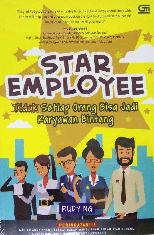 Cover Buku Star Employee: Setiap Orang Bisa Jadi Karyawan Bintang