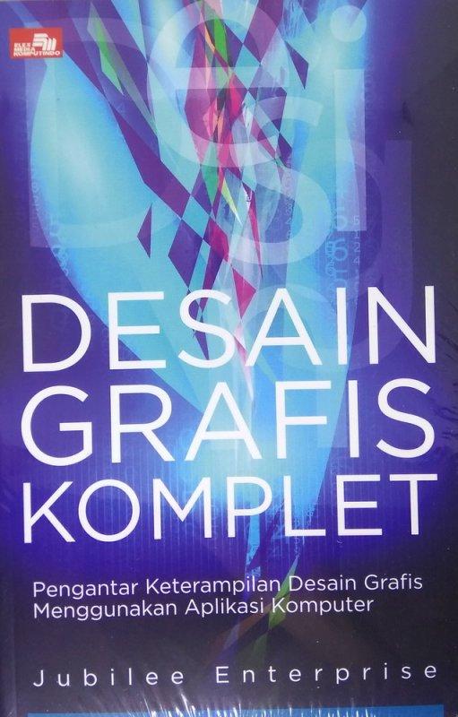 Cover Buku Desain Grafis Komplet