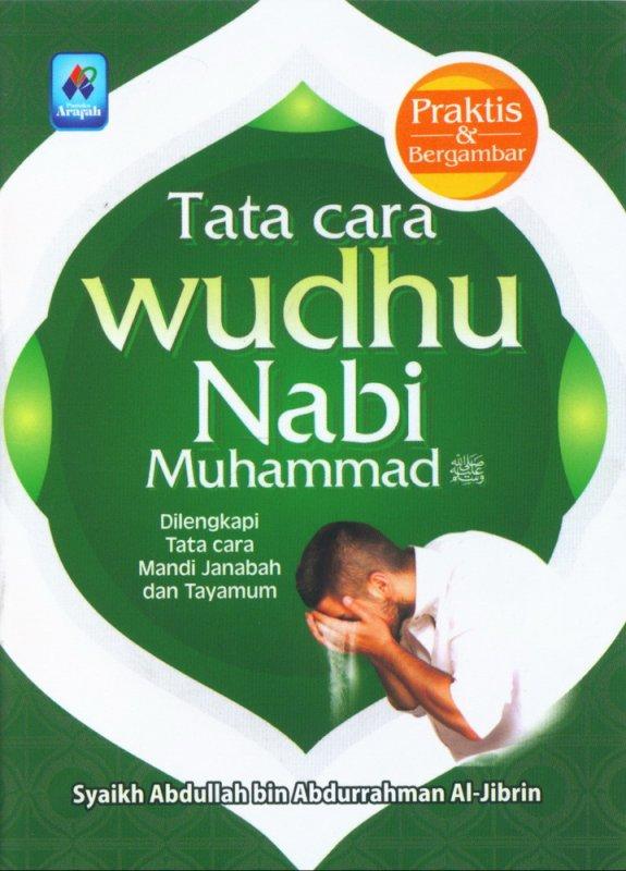 Cover Buku Tata Cara Wudhu Nabi Muhammad (buku saku)