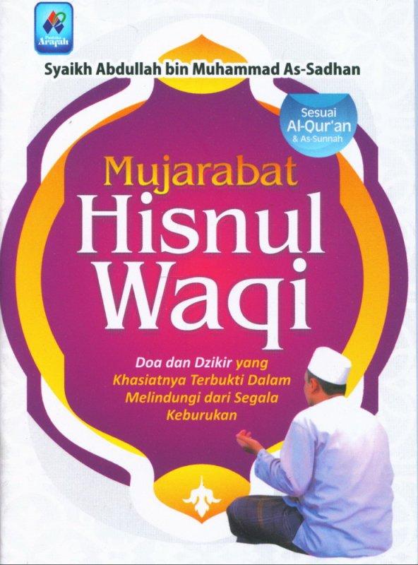 Cover Buku Mujarabat Hisnul Waqi (buku saku)
