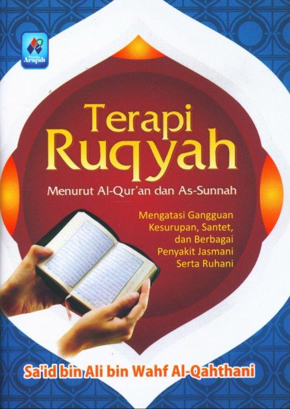 Cover Buku Terapi Ruqyah Menurut Al-Quran dan As-Sunnah (buku saku)
