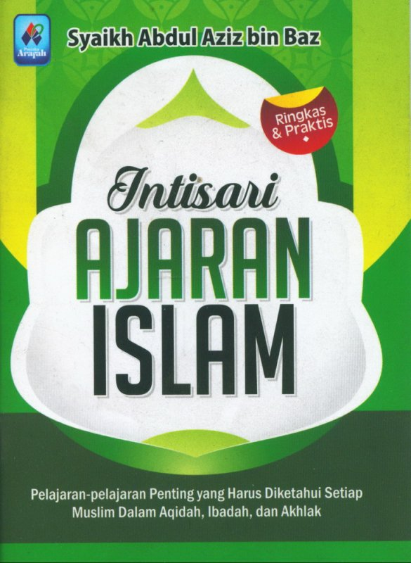 Cover Buku Intisari Ajaran Islam (buku saku)