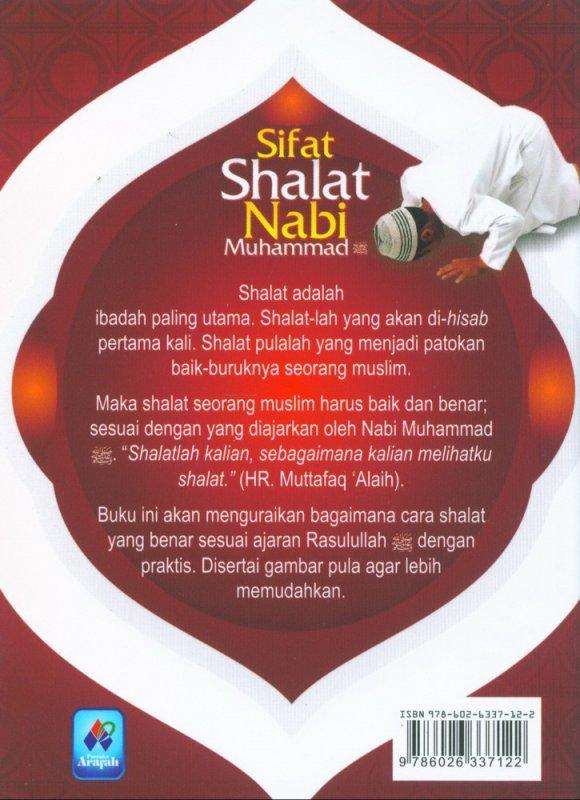 Cover Belakang Buku Sifat Shalat Nabi Muhammad (buku saku)