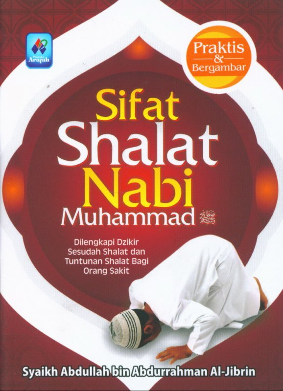 Cover Buku Sifat Shalat Nabi Muhammad (buku saku)