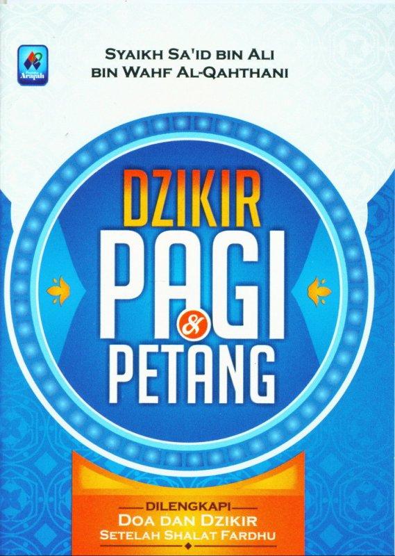 Cover Buku Dzikir Pagi & Petang (buku saku)