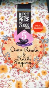 Box Paket 5 Novel Cinta, Rindu & Kasih Sayang