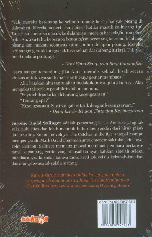 Cover Belakang Buku Sembilan Kisah