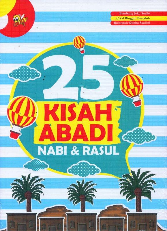 Cover Buku 25 Kisah Abadi Nabi & Rasul